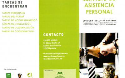 Cocemfe. Servicio de Asistencia Personal