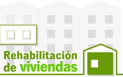 Abierto plazo subvención rehabilitación viviendas Junta Andalucía.