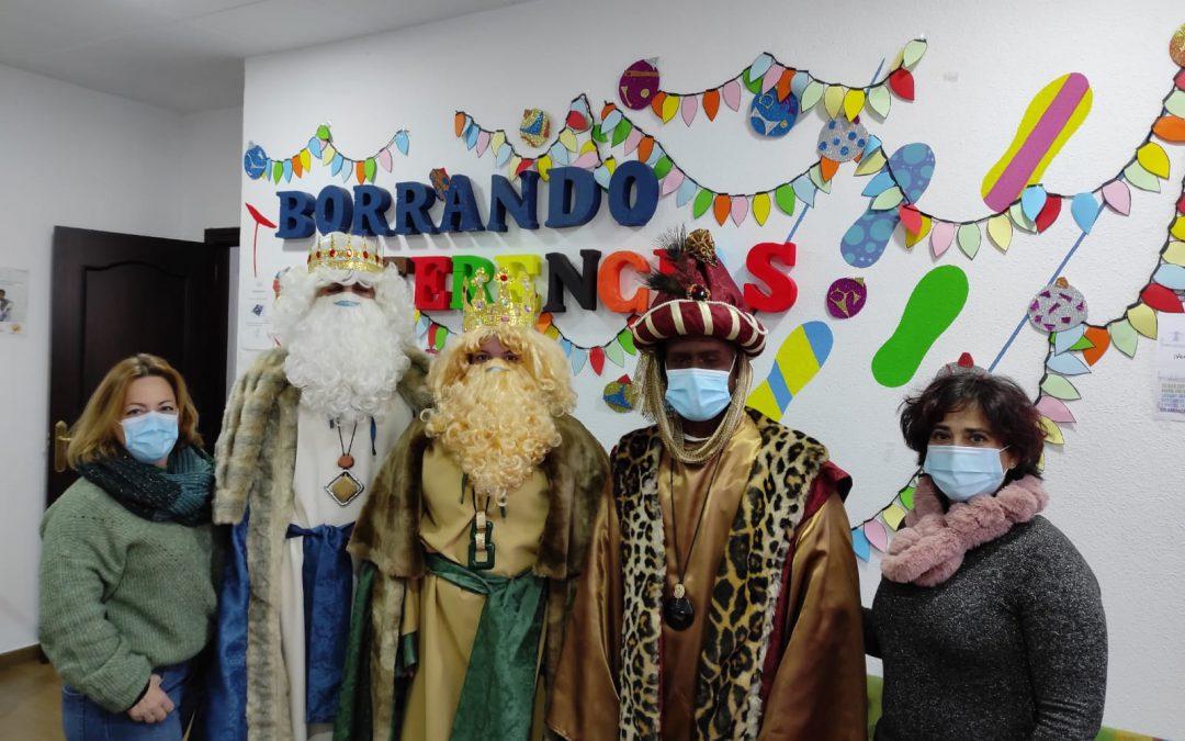 Visita de Papa Noel y Reyes Magos